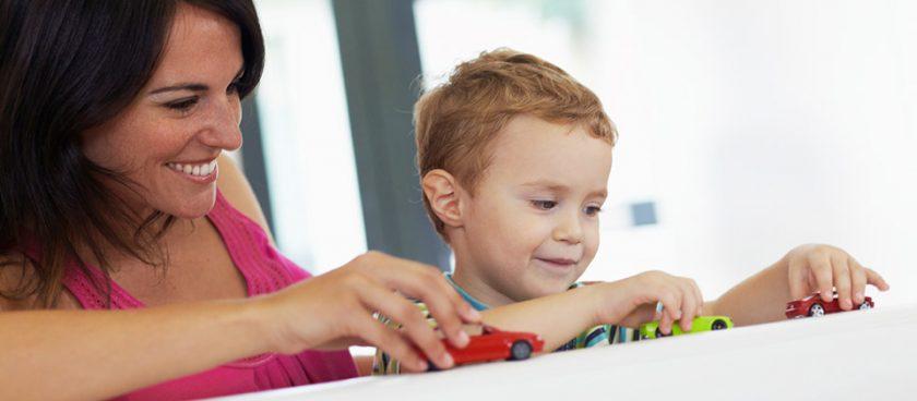 Comment s'amuser avec son enfant de 2 ans ?